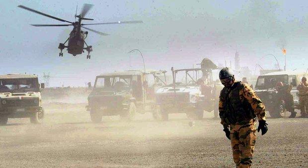 Iraq, trasferiti a Ramstein i cinque militari italiani feriti: tre hanno subito amputazioni
