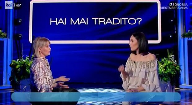 Marta Flavi da Caterina Balivo: «Sì, ho tradito». E racconta il segreto delle cene dell'addio