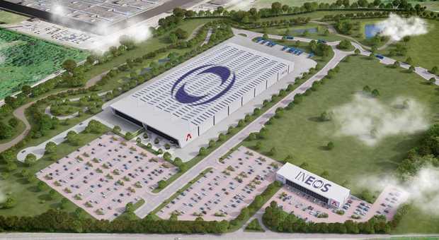 Uno stabilimento di Ineos Automotive
