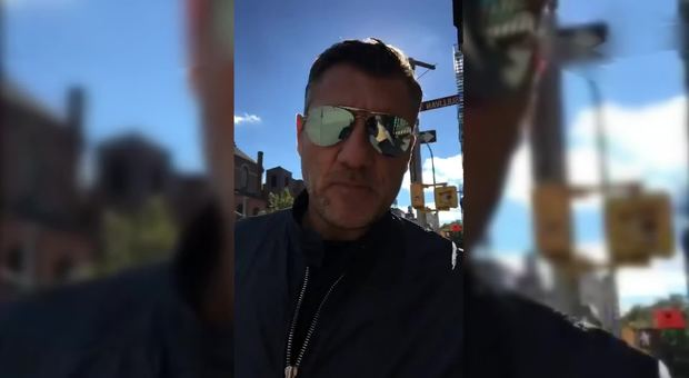 Bobo Vieri da «Song''e Napule» a New York