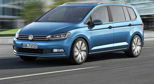 La nuova generazione di Volkswagen Touran