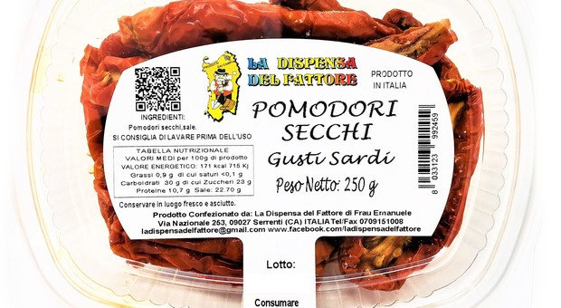 Pomodori secchi con tracce di insetti: ecco qual è il lotto ritirato dagli scaffali