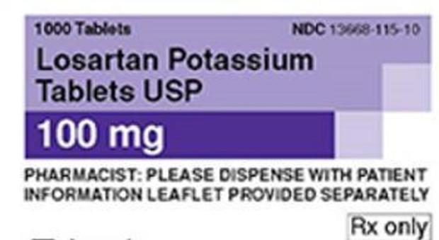 Ritirati farmaci contro la pressione alta negli Usa: «Impurità possibilmente cancerogene»