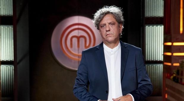 Giorgio Locatelli alla sua prima stagione di Masterchef
