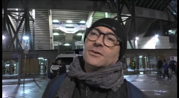 Napoli-Atalanta 1-2, tutta la delusione dei tifosi