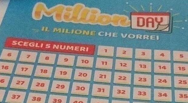 Million Day, diretta estrazione di oggi martedì 10 settembre 2019