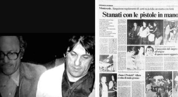 Rapina a Cinecittà, la vittima è Ennio Proietti, ultimo boss di un clan spietato