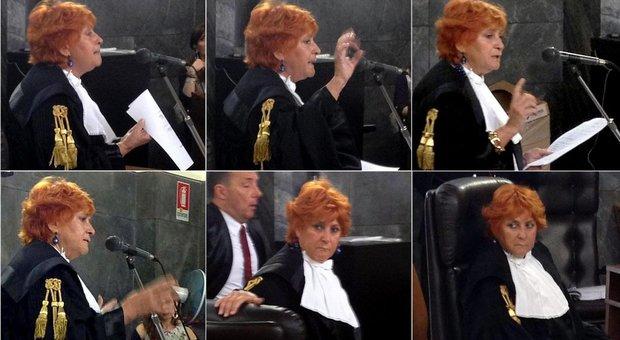 Ilda Boccassini lascia il palazzo di giustizia: ultimo giorno di lavoro senza celebrazioni