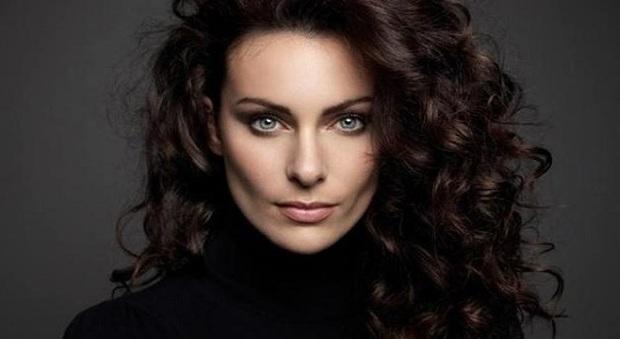 La modella Paola Turani