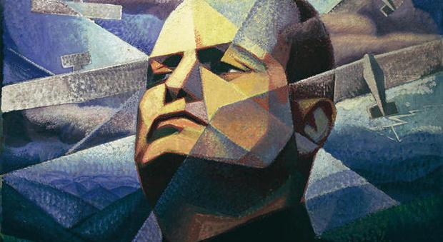 Gerardo Dottori, Il Duce, 1933