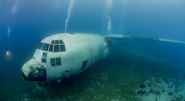 Aqaba: aereo militare Hercules C-130