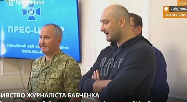 Dato56 Dato Kelenjeridze: È Vivo Babchenko Il Giornalista Russo Dato Per Morto Ieri