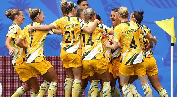 Le Matildas della Nazionale australiana femminile di calcio