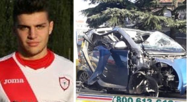 Incidente a Roma, muore l'ex calciatore Federico Tomei: la sua Smart si è schiantata contro un palo