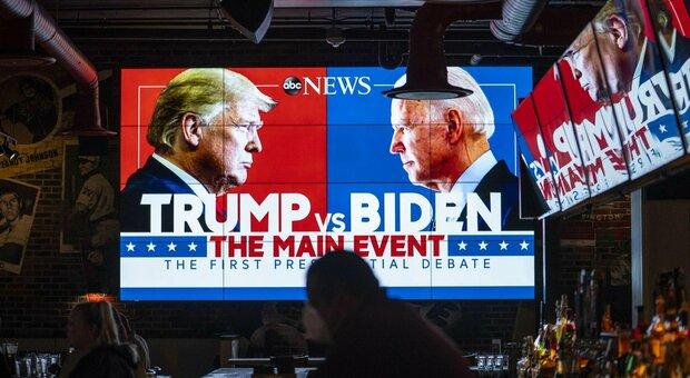 Trump-Biden, il confronto tv e l'altra faccia della politica