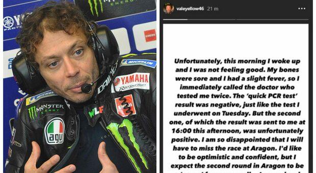 Moto Gp, Valentino Rossi positivo al coronavirus: «Sono triste e arrabbiato»