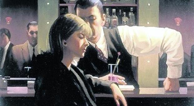 Cocktails and Broken Hearts, di Jack Vettriano