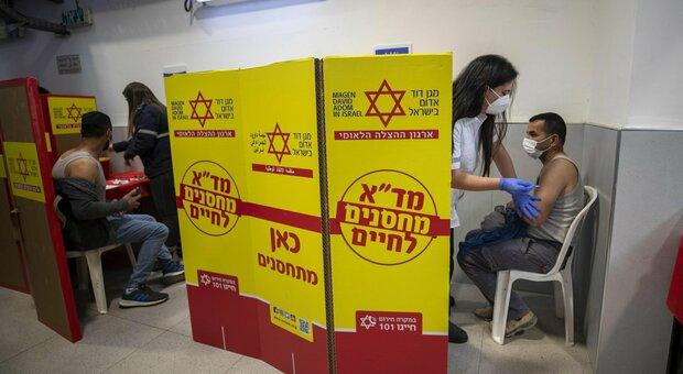 Terza dose vaccino, in Israele funziona: crollano contagi e casi gravi