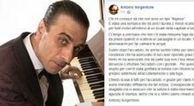 Sorgentone, il post su Fb dopo l'accoltellamento: «Non sto scappando». Ma la polizia lo cerca