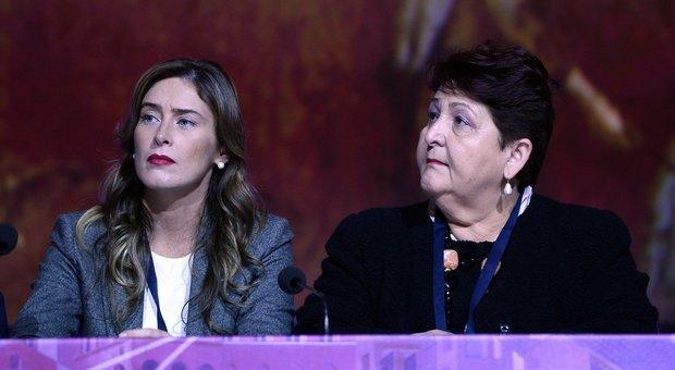 Teresa Bellanova con Maria Elena Boschi