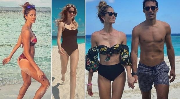 Elena Santarelli, su Instagram foto alle Maldive. Haters scatenati e lei sbotta: «Sono stufa»