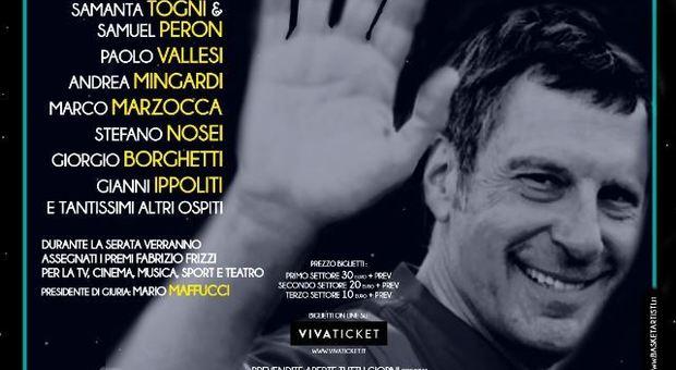 Frizzi, gli amici insieme per una serata evento in Versilia. «Ciao Fabri»
