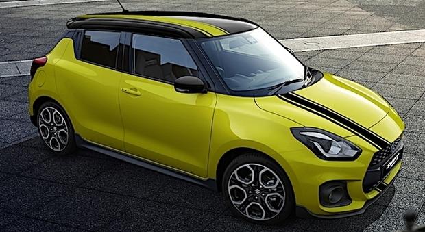 La Suzuki Swift Sport in versione BeeRacing