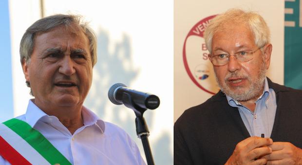 Luigi Brugnaro e Pier Paolo Baretta