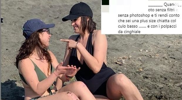 Elisa Isoardi posta una foto in costume. I commenti sessisti sul web:«Mettiti immediatamente a dieta»