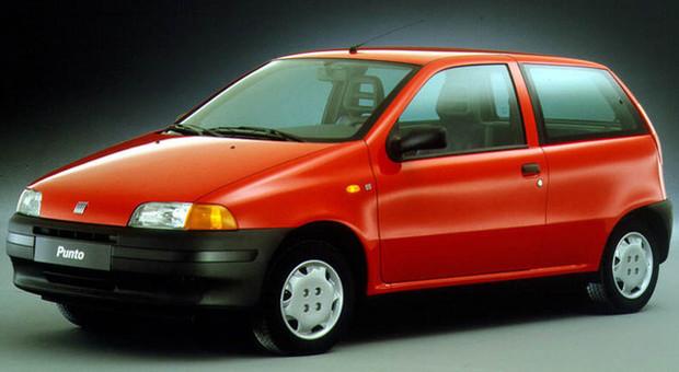 La Fiat Punto 55 3 porte prima serie