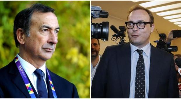 Sala attacca il senatore Cerno: «A Milano non si è più visto». La risposta: «Non è vero, colpa del Pd»