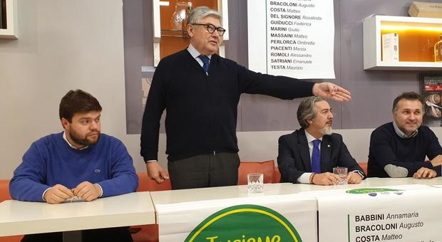 Il senatore Umberto Fusco (Lega)