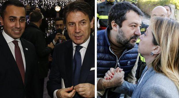 Quale politico vorresti con te al pranzo di Natale? Bocciati Conte e Di Maio, promossi Meloni e Salvini