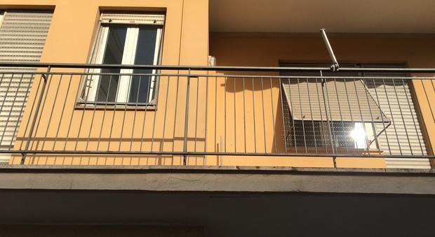 L'appartamento di via Monte Zebio
