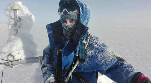 La glaciologa Giuditta Celli