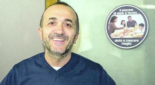 Stefano Durante, titolare del Saporoso, pizzeria di via Podgora a Conegliano