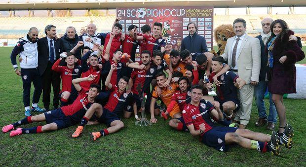 La squadra del Cagliari che vinse nel 2016