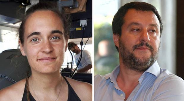 Sea Watch, chiusa indagine per Salvini: diffamò Carola Rackete