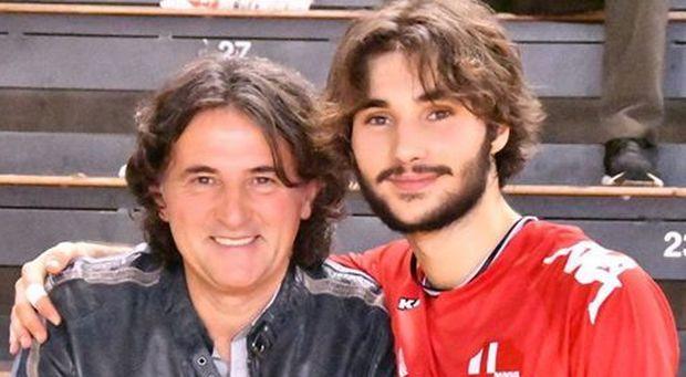 Alessandro Feverati col figlio Daniele