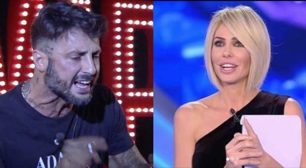Corona: «Ilary Blasi? Frequentò il mio giro a Milano e fece sesso con un mio amico»