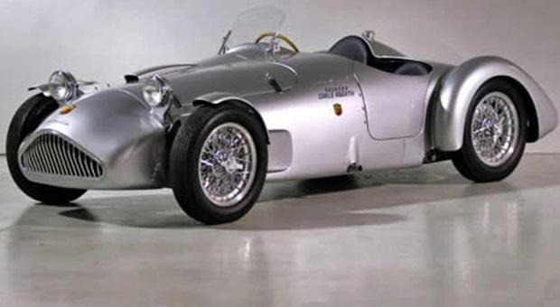 La Cisitalia Abarth 204 A Spyder, l'ultima auto da corsa di Tazio Nuvolari