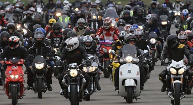 Un raduno motociclistico