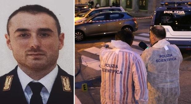 Sparatoria davanti alla Questura di Trieste: due poliziotti morti (a sinistra Matteo Demenego e a destra Pierluigi Rotta)