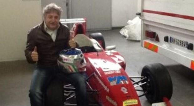 Il pilota imprenditore Davide Pizza