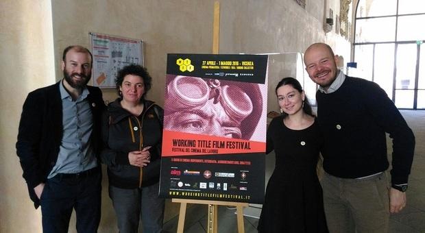Da sinistra Giulio Todescan, Rosa Maria Plevano, Marina Resta e Andrea Dori