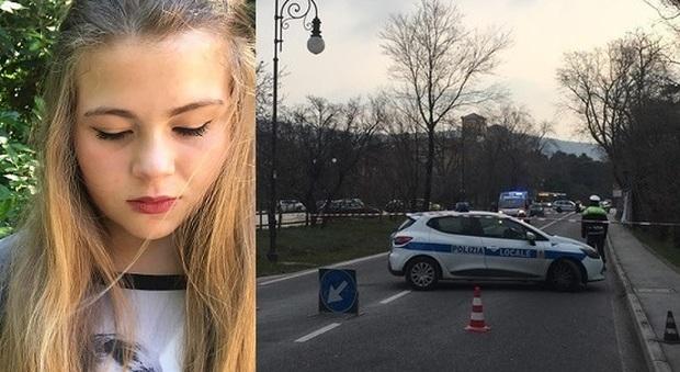 La vittima Giulia Buttazzoni e la scena dell'incidente (foto di Emanuele Esposito)
