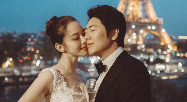 Il pianista Lang Lang con la moglie