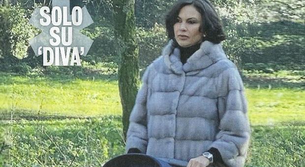 Ramona Badescu al parco col figlio (Diva e donna)