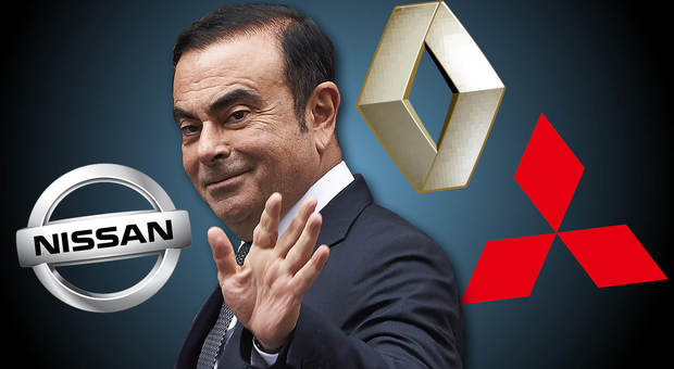 Il top manager Carlos Ghosn