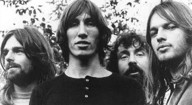 I Pink Floyd in una vecchia immagine